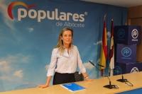 Carmen Navarro, cabeza de lista del PP de Albacete al Congreso.