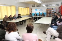 Reunión en Mahora con alcaldes y concejales de La Manchuela.