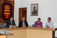 Charla informativa en el salón de actos del Ayuntamiento de Villamalea.