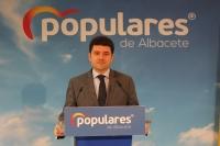 Francisco Navarro, portavoz adjunto del PP en la Diputación de Albacete.
