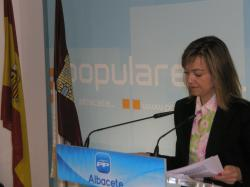 Inmaculada López, diputada regional del PP.