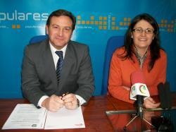 José Luis Teruel y Amalia Gutiérrez.