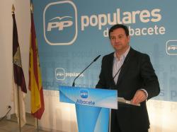 José Luis Teruel, en la sede provincial.