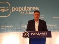 Juan Antonio Moreno, en la sede provincial.