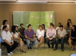 Cospedal, en un encuentro con jóvenes de CLM.