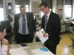 Carlos Castellote y Marcial Marín formalizan la candidatura regional.