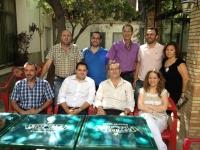 Francisco Núñez con el equipo de Gobierno de Caudete.