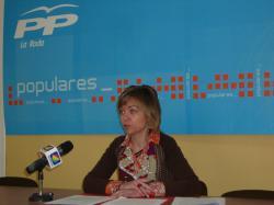 Inmaculada Núñez, en la sede de La Roda.