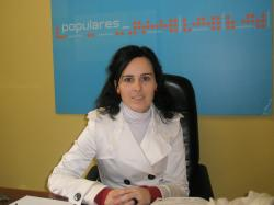 Llanos Soria, portavoz del PP en Pozo Cañada.