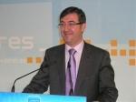 Marcial Marín presentando la candidatura