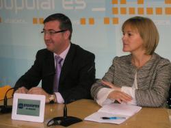 Marcial Marín y María Angeles García.