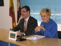 Marcial Marín y Carmen Quintanilla.