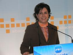 Mari Carmen Martín, en la sede provincial.