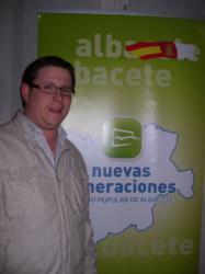 Max Monasor, presidente de NNGG Albacete.