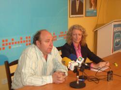 Francisco Blasco y Encarna Naharro.