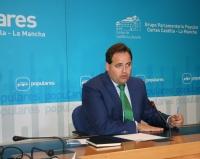 Francisco Núñez, viceportavoz del PP en las Cortes de Castilla-La Mancha.