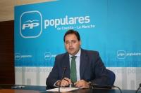 Francisco Núñez, durante la rueda de prensa.