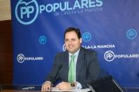 Francisco Núñez, viceportavoz del Grupo Parlamentario Popular.