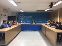 Reunión de NNGG en Albacete.