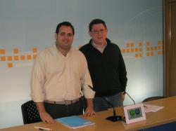Francisco Núñez y Max Monasor.