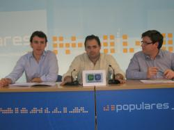 Luis A. Sánchez, Fco Núñez y Max Monasor.