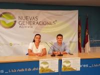 Andrea Martínez Valero y Juan Carlos González.