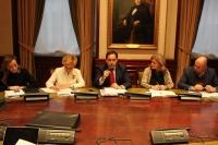 Reunión de Paco Núñez con los diputados nacionales del PP de CLM.