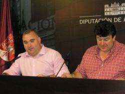 Constantino Berruga y Antonio Serrano.