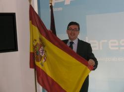 Marcial Marín felicitó a la selección española de fútbol.