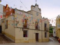 En la imagen, el Ayuntamiento de Paterna de Madera.
