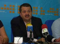 Antonio Rojas, presidente del PP de Villarrobledo.