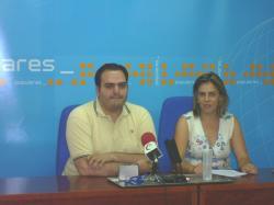 Francisco Abraila y Yolanda Lozano.