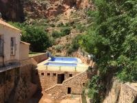 Imagen actual de las piscinas de Aýna.