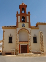 La iglesia de Pozohondo.