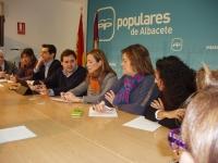 Reunión de la Comisión Provincial de Sanidad y Asuntos Sociales.