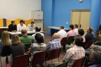 Reunión comarcal en Almansa.