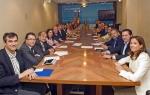 Reunión del Grupo Popular en las Cortes.