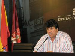 Antonio Serrano, portavoz del PP en la Diputación.