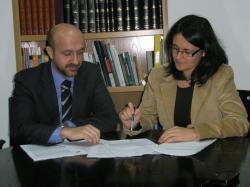 Juan Marcos Molina y Amalia Gutiérrez.
