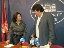 Mari Carmen Álvarez y Antonio Serrano.