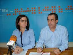Rosa Pilar Sáez y Manuel Mïnguez.