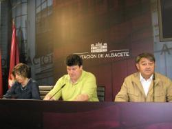 Carmen Collado, Antonio Serrano y José Luis Serrallé.