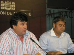 Antonio Serrano y José Luis Serrallé.