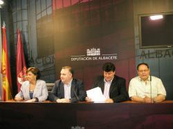 Grupo Popular en la Diputación.