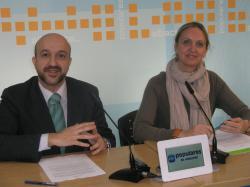 Juan Marcos Molina y Carmen Casero.