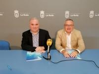 Constantino Berruga y Santiago Blasco, en rueda de prensa.