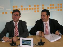 Marcial Marín y Antonio Lucas Torres.