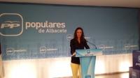María Delicado, presidenta de NNGG en Albacete.