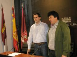 José Joaquín Tárraga y Antonio Serrano.