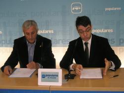 Sixto González y Álvaro Nadal.